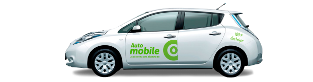 From A to B whit Communauto electric vehicle