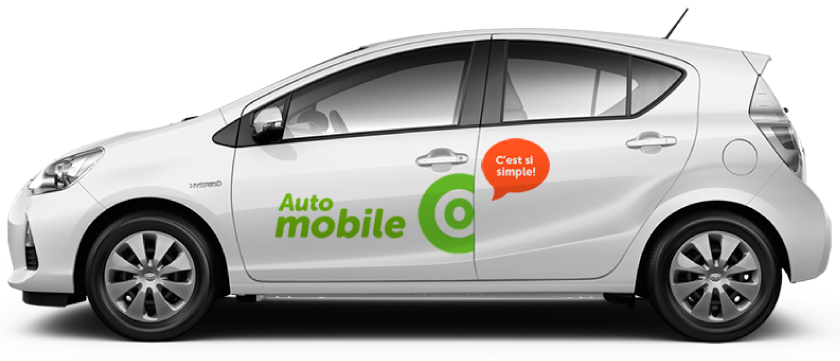 Vehicle Auto-mobile de Communauto