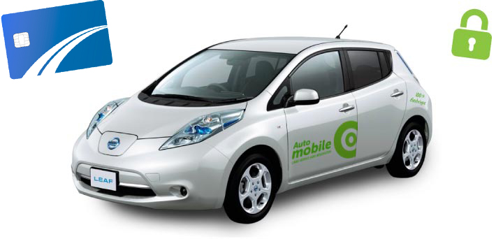 Release the Communauto electric vehicle