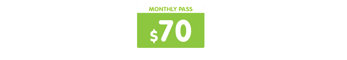 Auto-mobile + Monthly pass $ 50  = FLEX unlimited