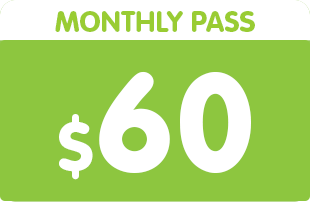 Monthly pass $50